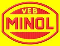 Minol  iron-on Aufnäher patch