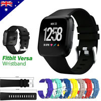 For Fitbit Versa 2 Replacement Band Silicone Wrist Sports Strap Band Wristband