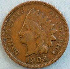 1903 Indian Head Cent Penny Very Nice Old Coin Fast S&H 476