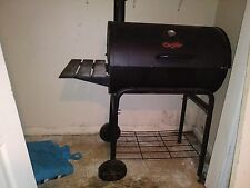 "Char Griller Grill "" its used tiny bit Rust at the bottom ,still in good cond."