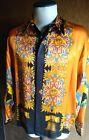 """NEW Rare """"Uncle Sam"""" Men's Creme De Silk Premium Fashion 100% Silk Medium"""
