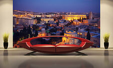 Jerusalem Old City at Night Wall Mural Photo Wallpaper GIANT DECOR Paper Poster