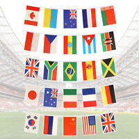 7m International Countries Bunting - 25 Flag 2018 Football World Cup Bunting
