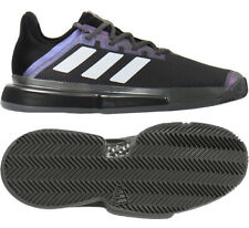 Adidas SoleCourt Bounce Clay Tennis Shoes Marathon Runner Boost Black NWT FX1736