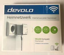 Devolo Heimnetzwerk WLAN Kompakt Starterset 2 Adapter !!! MEGA PREIS !!!