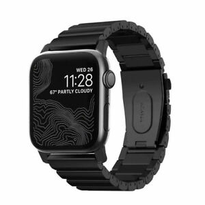 Nomad Titanium Band, Black for Apple Watch 44/42 mm