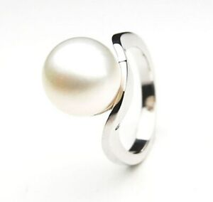 Australian White South Sea Pearl Ring 12mm Gifts for Girlfriend $1,199