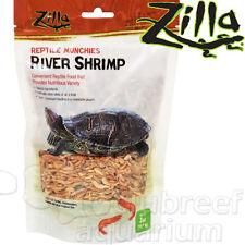 River Shrimp Dehydrated Large Fish/Turtle/Salamander Reptile Munchies Food Zilla