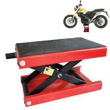 500KG Motorcycle Lifting 1100LBS Scissor Jack Lift Hoist Stand Workshop Tool