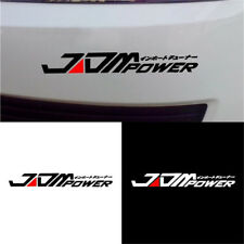 Car Bumper Sticker Decal For Toyota Honda Mitsubishi Striki JDM POWER