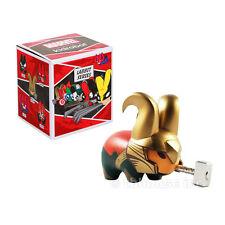 "2.5"" LOKI LABBIT vinyl figure KIDROBOT mini MARVEL frank kozik SERIES 1 2013"