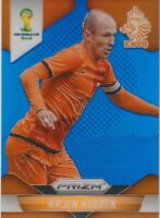2014 Panini Prizm World Cup Arjen Robben Blue Prizm  #44/199 Netherlands