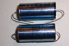 0.22uF 630V Axial Polypropelene Capacitors  Roederstein  VALVE HIFI Qty 2 NOS