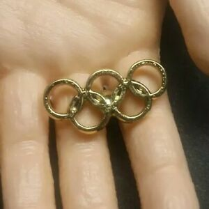 Olympic Pin: International Olympic Committee Olympic Rings Pin IOC Olympic Pin