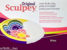 Sculpey Original 450g White  Sculpey The Original Oven Bake Modelling Clay