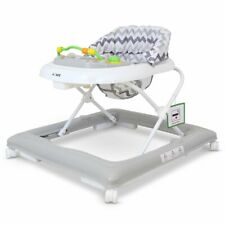 Girls Boys Age 6 Months Grey White Detachable Play Tray Baby Walker