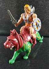 VINTAGE 80 S MASTERS OF THE UNIVERSE HE MAN & Battle Cat * completo ottime cond #2