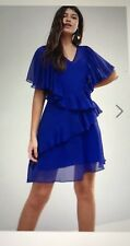 Asis V Neck Ruffle dress.  Size 12.  BNWT.