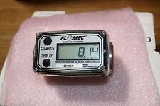 Flomec Aluminum Digital Gasoline Diesel Fuel Flow Meter 1 Inch Fnpt 3 50 Gpm