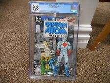 Captain Atom 26 cgc 9.8 DC 1989 Blue Beetle Booster Gold cover MINT WHITE pgs