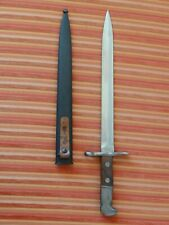 TOP Swiss Army bayonet Schmidt Rubin K31 M1918 Scabbard Elsener Schwyz WK2 WW2