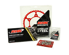 Honda XR250R 2000 2001 2002 RHK O-Ring Chain Front Rear Red Sprocket Kit