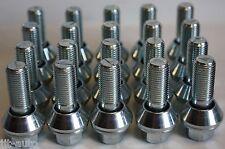 20 X M14 x 1,5 variable oscilación conversión Rueda Pernos Fit Audi A6 de carretera