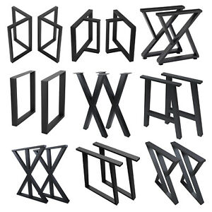 "2 Pcs Metal Furniture Legs Industrial Dining Table Legs Coffee Table Legs 28"""