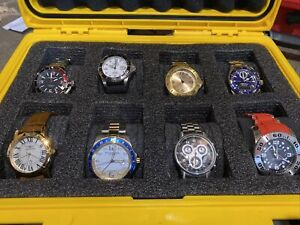 Inivicta Yellow Diver Box W/ 8 Watches
