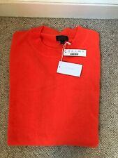 J Crew Bright Orange Cashmere Sweater