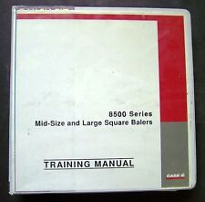 Case - IH 8500 Series Round Balers Factory Service Training Manual