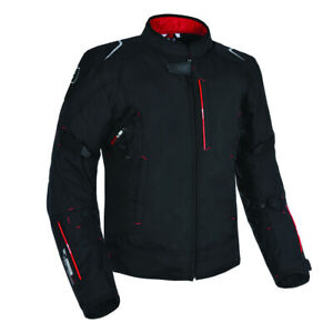 Oxford Toledo 1.0 Air Textile Motorcycle Motorbike Mesh Jacket Tech Black