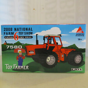 Ertl Allis-Chalmers 7580 Tractor National Toy Show 1/32 Scale AC-29709P-B