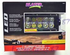 "Blazer 7"" LED Light Bar 30W Spot Flood Combination Off Road Camping Farm Jeep"