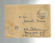 1943 Germany Oranienburg Concentration Camp Cover KZ Alexsander Jawosoki Poland