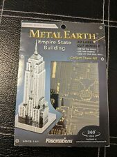 COOL Metal Earth Empire State Building 3D Laser cut models NEW