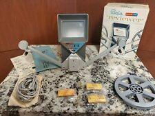 VINTAGE BAIA REVIEWER 8mm MOVIE EDITOR With Box and Accessories!!!