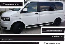 VW T4 T5 T6 Rayas laterales Kit TRANSPORTER Pegatinas De Coches COLOR DESEADO