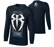 """WWE Roman Reigns """"Its My Yard"""" Long Sleeve T-Shirt Size 2XL MAKE AN OFFER"""