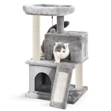 Domestic Delivery H 86cm Cat Tree Furniture Sisal Scratch Post Cat Jumping Toy W