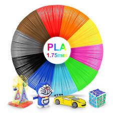 10Colors PLA 1.75mm 5m/Roll 165 feet 3D Printer Filament Consumable Material