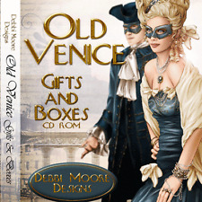 1 x Debbi Moore Designs Old Venice Gifts & Boxes CD Rom (295293)