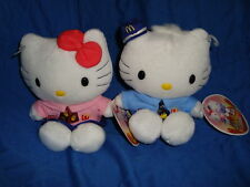 Hello kitty & Dear Daniel Plush in Mcdonald's wear 6""