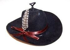 NEW WESTERN COWBOY MINI HATS car mirror novelty hat small cowgirl headwear hang