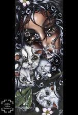 Angelina Wrona Redemption Novelty Fantasy Cats Animals Print Poster 11x14
