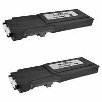 2 331-8429 W8D60 for Dell C3760 BLACK Extra HY Laser Toner Cartridge C3760 C3765