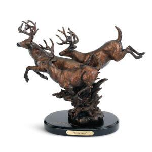 DEMDACO Living Large, Whitetail Deer Sculpture, Marc Pierce Signature Collection