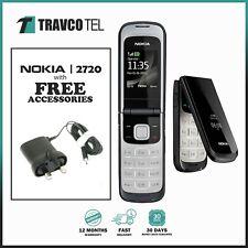 🔥 Nokia 2720 Fold - Black (Unlocked) Mobile Phone + Warranty 🔥