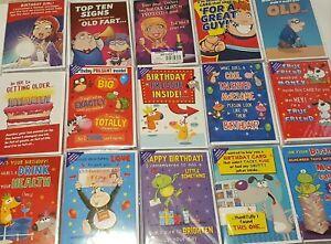Humour Birthday Cards Male Female Men Woman Cheeky Funny Novelty Joke NEW L3