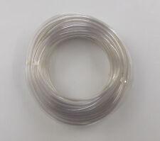 """3MM 1/8 """"IN PVC PLASTICA Screenwash Acquario Pesci Laghetto TUBING TUBE TUBO 10 Mtr"""